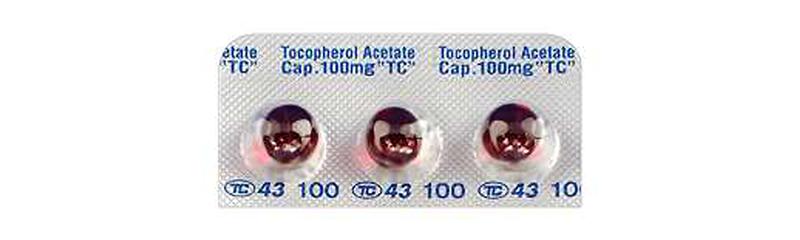 トコフェロール酢酸エステル(ビタミンE)